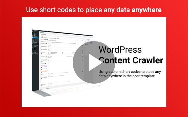 WP Content Crawler - Get content from almost any site, automatically! - 8
