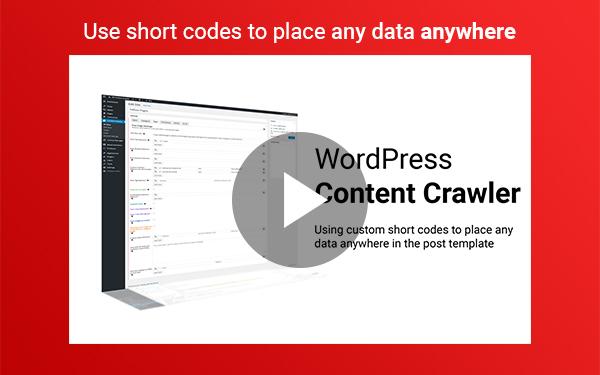 WP Content Crawler - Получайте контент практически с любого сайта автоматически! - 6