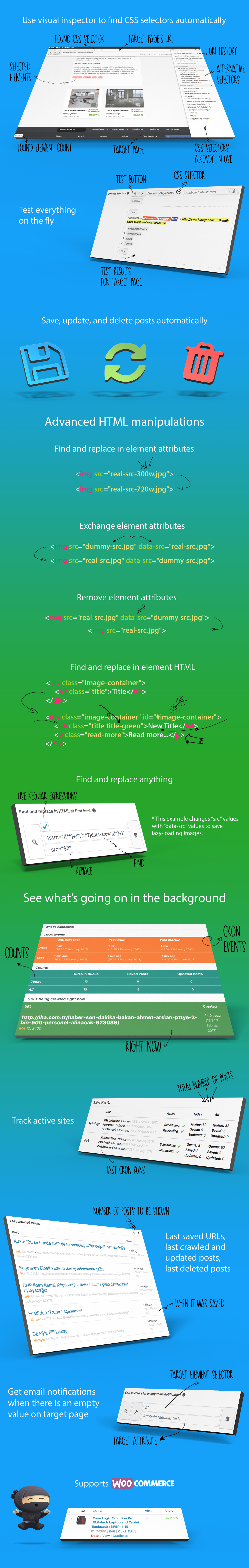 WP Content Crawler - Получайте контент практически с любого сайта автоматически! - 2